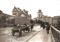 White City, Beautiful Buildings, Warsaw, Vintage Pictures, Poland, Taj Mahal, The Past, Black And White, Lost