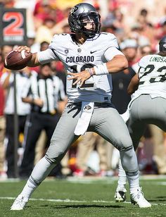 It isnt surprising that Colorado took a step back last season after winning the South title two years ago. Still, the Buffaloes couldnt help. College Football Uniforms, College Football Players, Sports Uniforms, Nfl Football, American Football, Team Usa, A Team, Rafael Miller, Spring Football