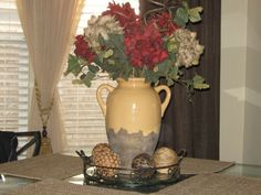 tuscan centerpieces for kitchen tables - Google Search