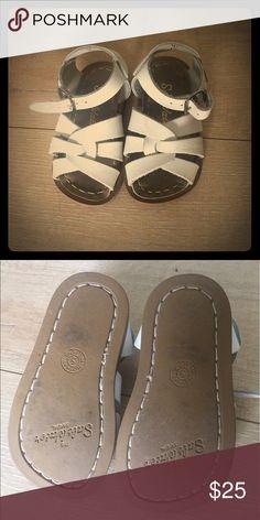 Salt Water Sandals (White) Size Toddler 5 GUC white sandals, Size 5. Salt Water Sandals by Hoy Shoes Sandals