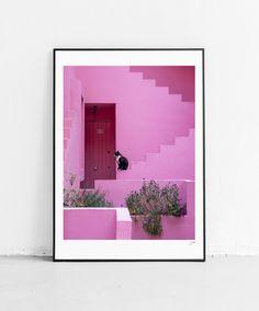 Flip Flip Flip // Shop // Poster // Pink Panther // 50x70cm Pink Panthers, Fine Art Paper, Flip Flip, Mirror, Website, Studio, Shop, Poster, Home Decor