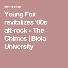 """Sky Beats Gold"" avoids the cliches of their template with eerie ambience and southern grit. Young Fox, University, Rock, Skirt, Locks, The Rock, Rock Music, Colleges, Stone"