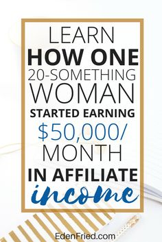 Michelle started her blog to pay off student loan debt and it evolved into something that would forever change her life. Learn how she went from nothing to earning over $50,000 per month in affiliate income #afflink