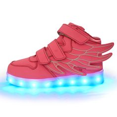 2016 Spring Kids led Sneakers Enfant Fashion USB Charging Luminous Light Colorful LED kids light up shoes Girls Boy Children