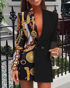 Suit Fashion, Look Fashion, Fashion Outfits, Womens Fashion, African Wear, African Fashion, Suits For Women, Clothes For Women, Blazers For Women