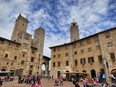 About 90 minutes from Florence by bus and just over an hour from Siena, San Gimignano is a great day trip or overnight destination.  Follow the link to find out more:  http://mikestravelguide.com/san-gimignano-italys-town-of-the-towers/