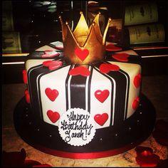 Queen of Hearts Cake.