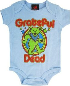Grateful Dead Retro Dancing Bear Creeper Onesie 12 to 18 months #gratefuldead baby