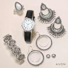 Samara, Avon Online, Avon Representative, White Quartz, Statement Earrings, Hoop Earrings, Deodorant, Sale Items, Medium