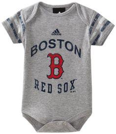 Boston Red Sox - S/S Foldover Neck Creepe  For My Future Grandbabies!