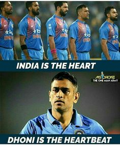See virat. This is called true fandom. History Of Cricket, World Cricket, Dhoni Records, Ms Dhoni Profile, Ms Dhoni Photos, Dhoni Quotes, Ricky Ponting, Ms Dhoni Wallpapers, Cricket Quotes