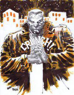 Marv of Sin City byDan Panosian