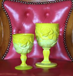 Introducing our newest goblet color - Dandelion!