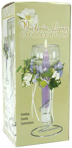 Shop for Darice Floating Candle Centerpiece. Get free delivery On EVERYTHING* Overstock - Your Online Wedding Planning Shop! Bachelorette Party Supplies, Floating Candle Centerpieces, Taper Candle Holders, Table Top Display, Victoria, Burning Candle, Novelty Gifts, Glass Vase, Wedding Decorations