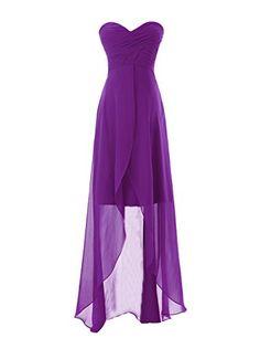 Diyouth Sweetheart High-low Chiffon Bridesmaid Dress Purple Size 10 Diyouth http://www.amazon.com/dp/B00LQN18CE/ref=cm_sw_r_pi_dp_wW.oub1FMTRC2