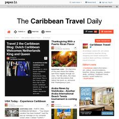 The Caribbean Travel Daily for November 10, 2013. Yes, you can subscribe (It's Free!) ... and get the latest on Caribbean travel and information. Puerto Ricans, Life Is Short, Beautiful World, Caribbean, Festive, Ms, November, Photo And Video, Free