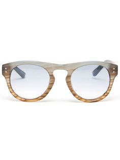 3.1 PHILLIP LIM Frosted Typhoon sunglasses on Vein - getvein.com