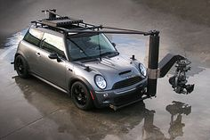 Filming some hot pursuit scenes? Better have a Cooper S as camera car...