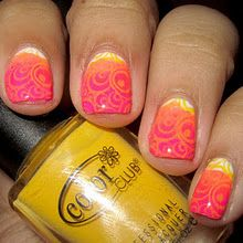 Gorgeous gradient and stamping