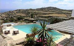 Villa properties for sale & rent in Greece and Cyprus by ADAK real estate agents Mykonos Greece, Property For Sale, Villa, Real Estate, Outdoor Decor, Real Estates, Fork, Villas