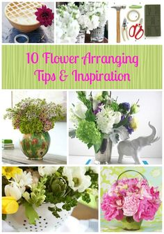 10 Flower Arranging Tips and Inspirations - The UnCoordinated Mommy