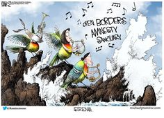 Political Cartoons - Political Humor, Jokes and Pictures Cartoon Jokes, Funny Cartoons, Funny Jokes, Shepard Smith, Michael Ramirez, Silly Me, Conservative Politics, Political Cartoons, Sirens