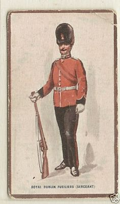 HILL-Types-of-the-British-Army-Badminton-1914-No-9-Royal-Dublin-Fusiliers
