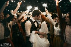 "lilta: "" LILY & JAMES POTTER. WEDDING. (J.K.Rowling - ""Harry Potter"") Photo: Yana Gallis © L I L T A | vk.com/lilta | http://lilta-photo.deviantart.com/ | http://worldcosplay.net/member/198492 """