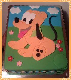 Pluto Cake