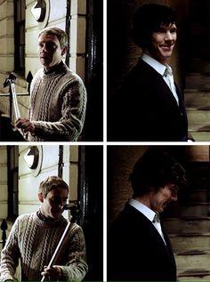 The beginning of one of the greatest love stories..  #Johnlock #John_Watson #Sherlock #BBC #ASiP