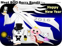 Meet BOO Berry Bandit (BBB): Happy New Year, 2017