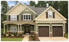 siding and stone....Hardi board & board and batten. Mixing colors. Tulsa Hardie siding