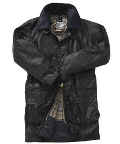Border Waxed Jacket, Barbour