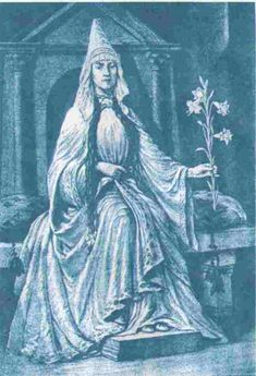 countess_lg.jpg (648×950)Drawing by George Sullivan (ca. 1906) conjecturing what Matilda of Tuscany may have looked like in life.
