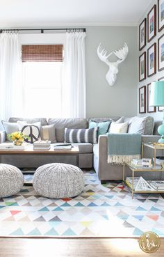 Spring Living Room decor ideas | Best of 2016: Interiors - Inspired by Charm