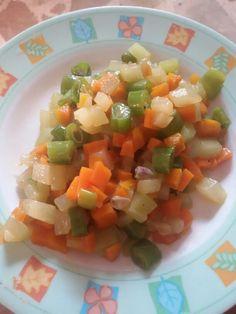 My favorite buttered veggies.