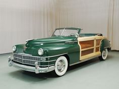 1948 Chrysler Town & Country Convertible...just beautiful...