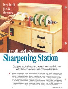 Sharpening Station - ShopNotes #119