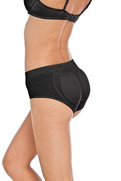 08fb81fe44 Women s Seamless High Compression Butt Booster Briefs Shaper (L XL