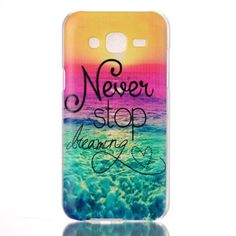 Never Stop Dreaming PC Back Skin Cover Case For Samsung Galaxy J5 J500 J500F New - http://phones.goshoppins.com/phones-cases/never-stop-dreaming-pc-back-skin-cover-case-for-samsung-galaxy-j5-j500-j500f-new/