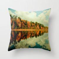 Landscape Throw Pillows | Society6