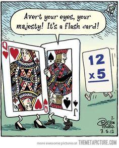 It's a Flash Card look away HAHA!