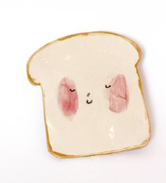toast plate by charlotte mei ceramics | notonthehighstreet.com