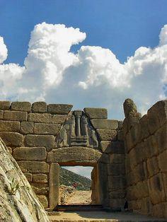 The Lion Gate - Mycenae, Greece - city of Agamemnon