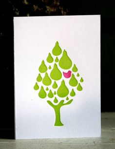 Starparticle Letterpress Christmas Cards