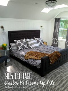 1905 Cottage Master Bedroom Update! So many gorgeous ideas! -- Tatertots and Jello