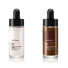 Lighten or Darken Your Foundation with The Body Shop Shade Adjusting Drops