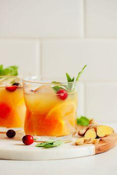 Orange-Infused Whiskey Ginger | Minimalist Baker Recipes