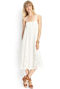 Strappy Halter Maxi Dress | FOREVER21 - 2000062735