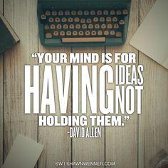 Think, write, think again!